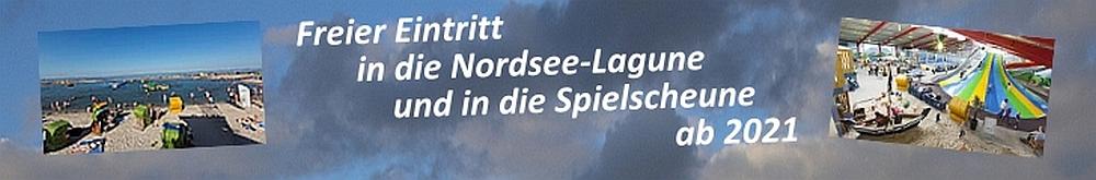 Nordsee-Lagune und Spielscheune frei!